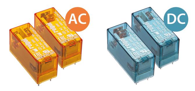 Обновленные серии реле RM84, RM85 и RM87 в новых цветных корпусах