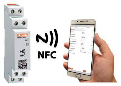 TMM1NFC – Releu de timp, contor si contor orar cu tehnologie NFC si APP